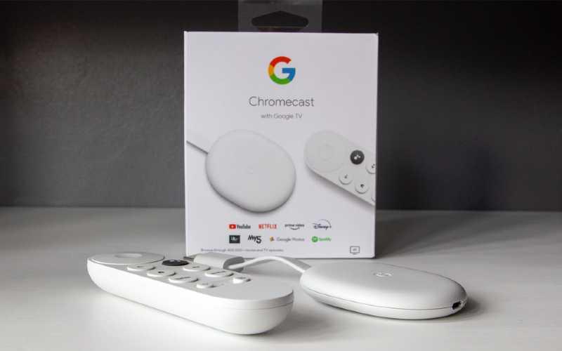 Google Chromecast Smart TV Streaming