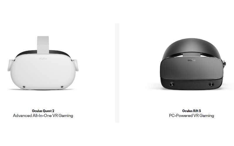 Oculus Rift S vs Quest 2